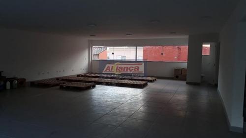 Sala Para Alugar, 160 M² Por R$ 2.800/mês - Jardim Paraventi - Guarulhos/sp - Cód. Sa0514 - Ai13747