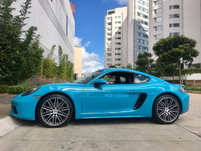 Porsche Cayman 718 Miami Blue