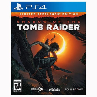 Shadow Of The Tomb Raider - Limited Steelbook Edition - Ps4