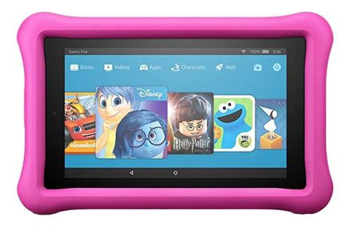"""Imagen 1 de 1 de Tablet  Amazon Kids Edition Fire 7 2017 7"""" 16GB pink con 1GB de memoria RAM"""