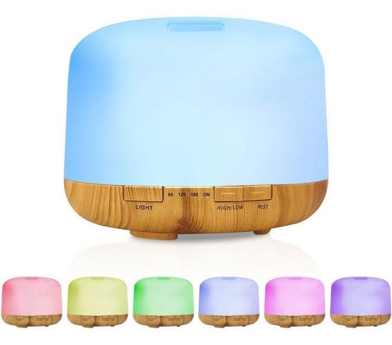Humificador Difusor De Aromas 500ml Lampara