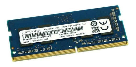 Memoria Ddr4 8gb 1.2v Notebook 2666 Ramaxel Envios Gratis