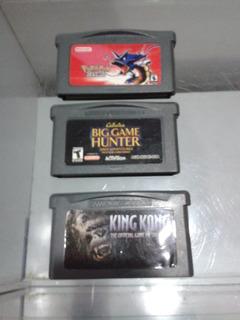 Juegos Para Gameboy Advance Combo De 3 Juegos