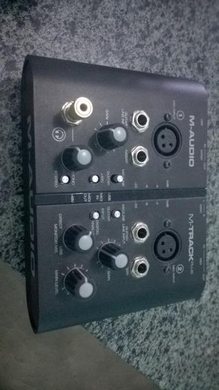 Interface Usb M-track Plus