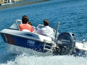 Lancha G 490 Con Motor Yamaha 50 Hp 4 Tiempos Full Completa
