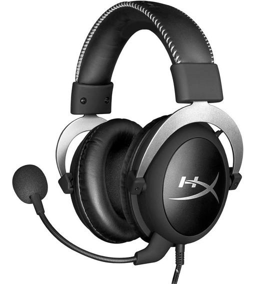 Headset Gamer Hyperx Cloud Silver - Hx-hscl-sr/na
