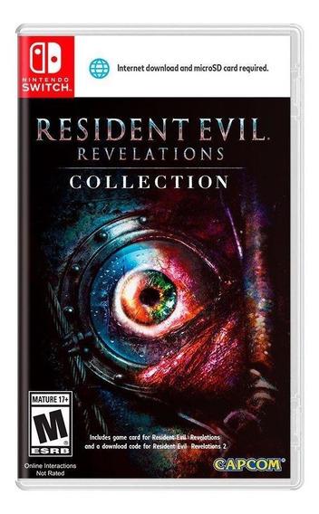 Resident Evil Revelations Collection Switch Mídia Física