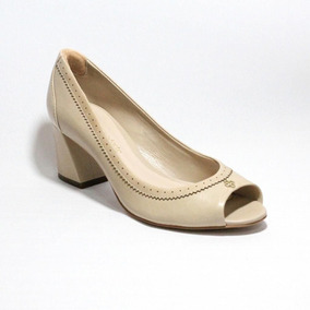 1eee0c0df4 Sapatos Peep Toe Barato Feminino - Sapatos no Mercado Livre Brasil