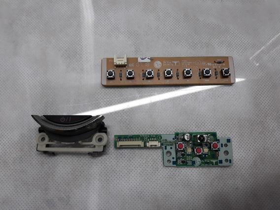 Botão Power/sensor Ir + Placa Funções Tv Lg 50pg60d