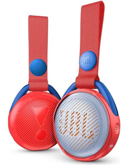 Caixa De Som Bluetooth Jbl Jr Pop Vermelho Ipx7