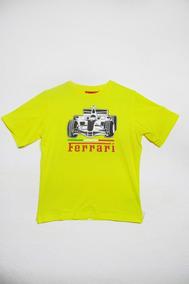 Camiseta De Niño Ferrari, Coche