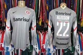 Internacional 2014 Camisa De Goleiro Tamanho G # 22 Alisson