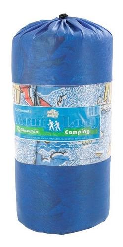 Imagem 1 de 9 de Colchonete Mont Long Solteiro - Fa Maringá Verde Ou Azul