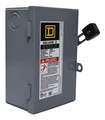 Imagen 1 de 5 de Interruptor De Seguridad 2 Polos 30 A - Lm221