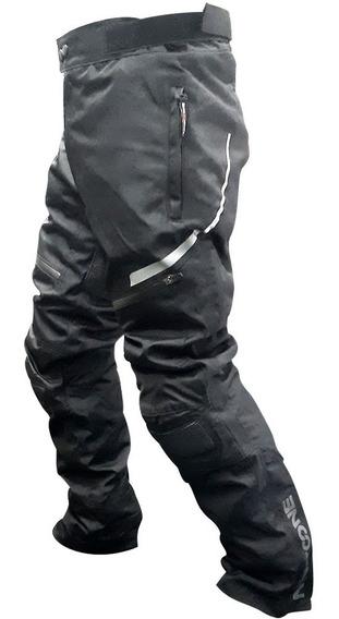 Pantalon Moto Cordura Hombre Nine To One By Ls2 Fuse Negro