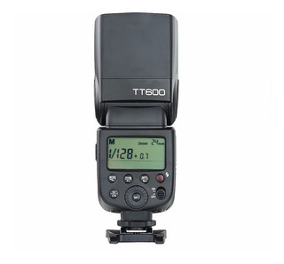 Flash Godox Tt600 Receptor Integrado Canon/nikon 12 Msi Hss