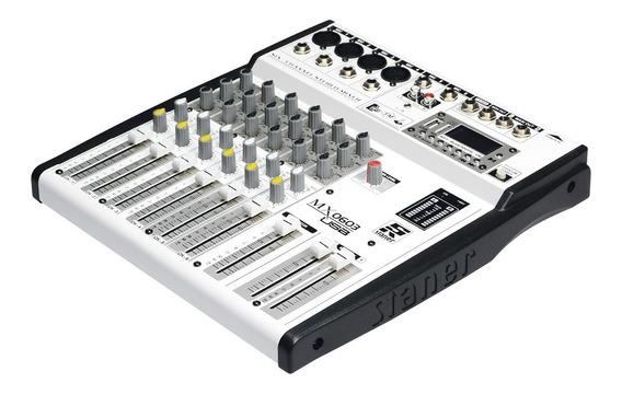 Mesa De Som Mixer 603 Usb Staner Novo Com Garantia