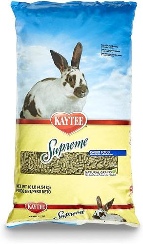 Imagen 1 de 5 de Alimento Kaytee Supreme Conejos 10 Lb / 4,54 Kg