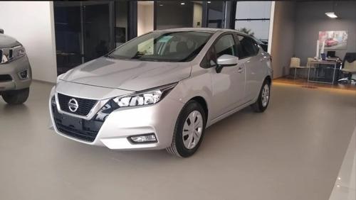 Nuevo Nissan Versa Sense  2021  Anticipo Financiado