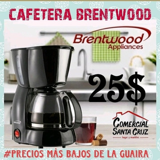 Cafetera Brentwood. 12 Tazas. 1 Año Garantía