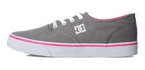 Tenis Unisex Flash 2 Tx Mx Gris Adjs300194-lgr Dc Shoes