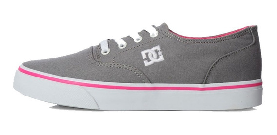 Tenis Unisex Flash 2 Tx Mx Gris Adjs300194-lgr Dc Shoes