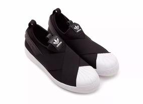 Tênis adidas Slip On Superstar Unissex Lançamento Original