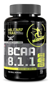 Bcaa 8.1.1 120 Cáps Military Trail - Midway