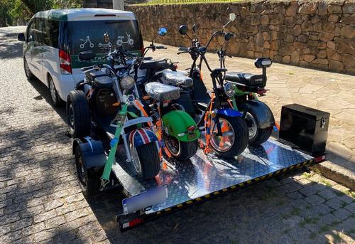 Imagem 1 de 8 de Reboque Para Transporte De Scooter Elétrica. 5 Unidades.