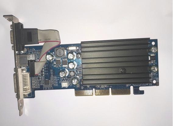 Placa De Vídeo Geforcer 6200 Ddr 128mb 64bits 350mhz