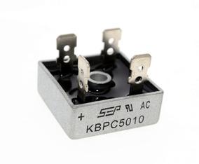 03 Diodo Ponte Retificadora Kbpc5010 50a 1000v Original
