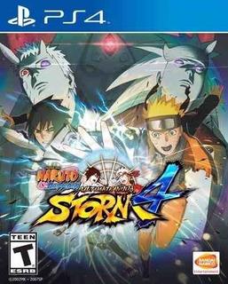 Juego Ps4 Naruto Shippuden Ultimate Ninja Storm 4
