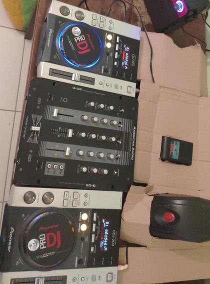 Cdj 200 Completo Com Mixer