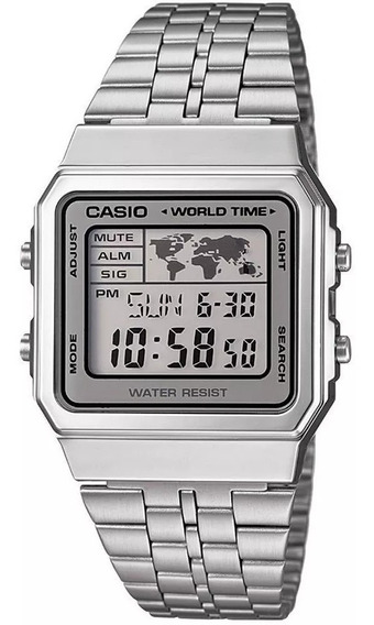 Relógio Casio A500wa-7df Unissex Original 1 Ano De Garantia