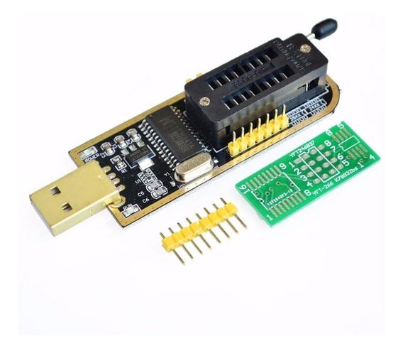 Gravador Eprom Flash Bios Programador Leitor Ch341a