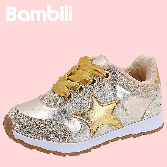 Tênis Infantil Bambili Sport Menina Feminino - J3334c.02