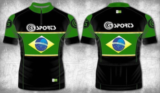 Camisa Ciclismo G Sports