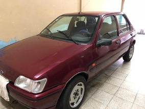 Ford Fiesta 1.3 Clx Con Equipo De Gas