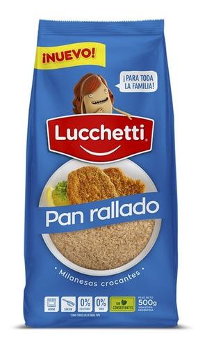 Pan Rallado Luchetti 500g Milanesas Crocantes