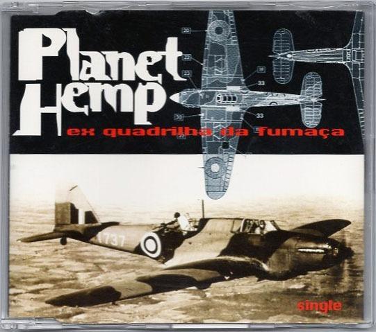 Cd Planet Hemp Ex-quadrilha Da Fumaça (single) Frete Gratis