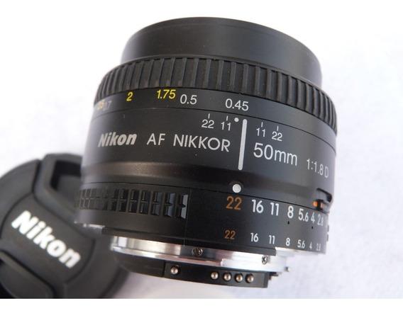 Lente Nikon Nikkor Af 50mm 1.8