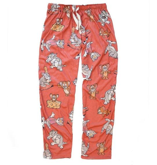 Pijama Tom Y Jerry Retro Mujer Hombre Pantalon