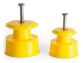 Kit C/100 Isolador Plástico Cerca Elétrica Md36 Frete Gratis