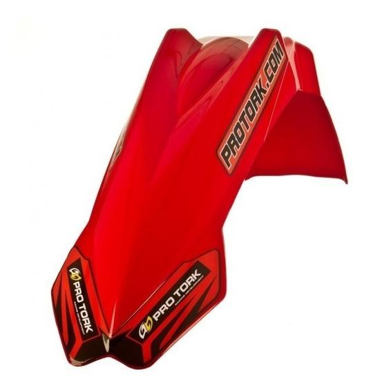 Paralama Dianteiro Mx2 Pro Tork Universal Vermelho