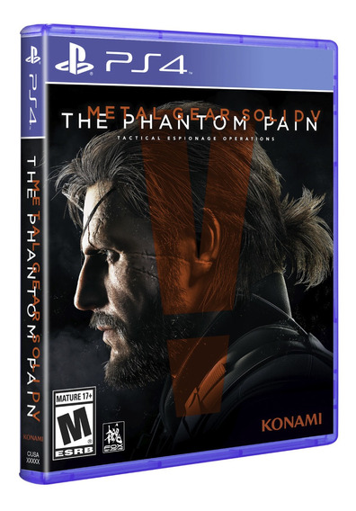 Metal Gear Solid 5 The Phantom Pain Ps4 Mídia Física Barato