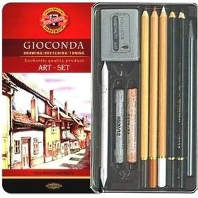 Estojo Desenho Koh-i-noor Gioconda 8890 Art Set Lapis