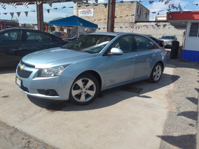 Chevrolet Cruze 1.4 F Lt Aa Cd Mp3 R-17 Piel Qc At