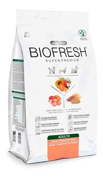 Racao Biofresh Caes Adultos Racas Pequenas 7,5 Kg