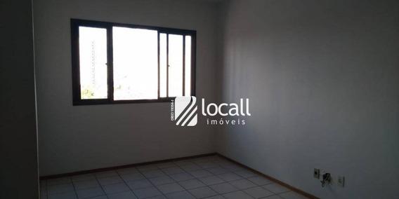 Apartamento Com 2 Dormitórios Para Alugar, 60 M² Por R$ 1.000/mês - Boa Vista - São José Do Rio Preto/sp - Ap1608