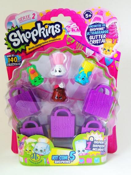 Shopkins Blister Serie 2 Kit Com 5 Shopkins - Dtc - #04